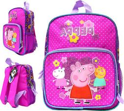 "Peppa Pig 10"" Mini Backpack Girl's Book Bag"