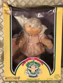 1985 Cabbage Patch Kids Preemie Girl In Pink Outfit New But
