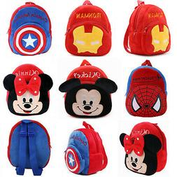 Boys Girls Kids Nursery Baby Infants Toddler Superhero Backp