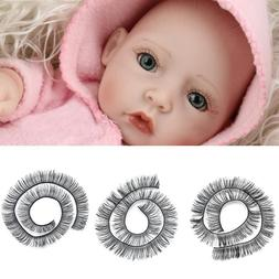 20cm Eyelashes For Baby <font><b>Dolls</b></font> Accessorie