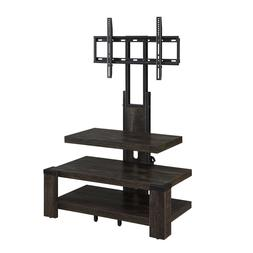 Whalen 3 Shelf TV Stand with Mount for s up to 46""