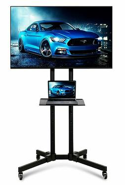 32 To 65 Inch Mobile TV Stand Universal Flat Screen Rolling