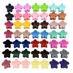 50 pcs kids baby plastic girls hairpins