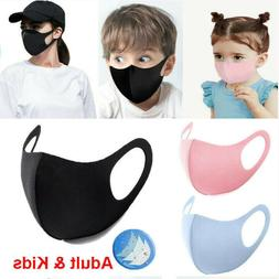5Pcs Kids Boys Girls Child Unisex Face Mask Reusable Washabl