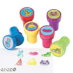 6 Girl Squad Self Ink Stampers Kids Arts and Crafts Birthday