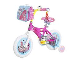 "My Little Pony Dynacraft Girls Street Bike 12"", Pink/White/L"