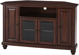 Crosley Furniture Cambridge 48-inch Corner TV Stand - Vintag