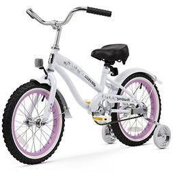 Firmstrong Girl's Bella Bicycle with Training Wheels, 16-Inc
