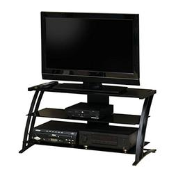 "Sauder 408559 Deco Panel TV Stand, For TV's up to 42"" , Blac"