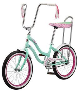 "Schwinn S2367B Mist Girls Polo Bike, 20"" Wheels, Mint, 20"" w"