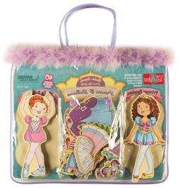 T.S. Shure Daisy Girls Princess & Ballerina Wooden Magnetic