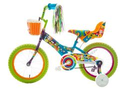Titan Girl's Flower Power Princess BMX Bike, Multi Color, 16