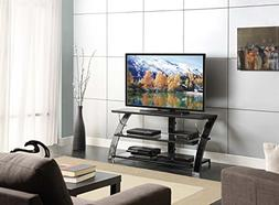 Whalen Furniture - 3-in-1 Tv Console For Most Flat-panel Tvs