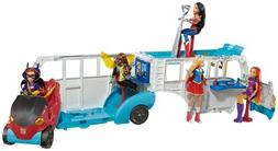 """DC Super Hero Girls Action Doll Feature Bus, 12"""""""