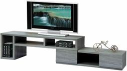 """Techni Mobili Adjustable TV Stand Console for TV's up to 65"""""""