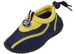 New Starbay Brand Kid's Yellow & Navy Athletic Water Shoes A