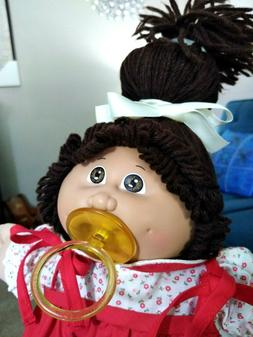 Cabbage Patch Kids Baby Girl 😍 Brown Hair/Eyes with Pacif