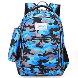 Kid Backpack with Pen Case for 2nd Grade or Younger Kinderga