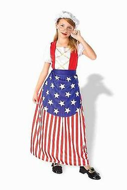 Betsy Ross Girls Patriotic Costume by Forum Novelties Kids G