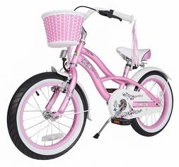 BIKESTAR® Premium Girls Boys Bicycle 16 inch Beach Cruiser
