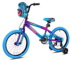 """Bicycle  Girls Genesis 18"""" Illusion Blue/Purple,Ages 6-9 Out"""