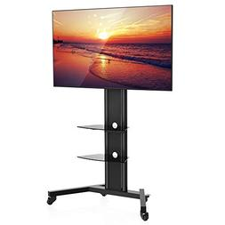 Fenge Fitueyes Mobile TV Carts Rolling TV Stand for 42 to 70
