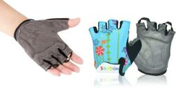 MIFULGOO Boy Girl Child Children Kid Padded Half Finger Medi