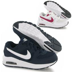 Boys Girls Nike Air Max Command Leather Trainers Sports Scho