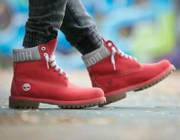 Boys/girls Timberland x NBA Houston Rockets 6 in Classic Pre