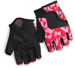 Giro Bravo Jr Glove - Kid's Pink/Black Small