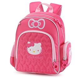 YOURNELO Girl's Cartoon Lovely Hello Kitty Rucksack School B