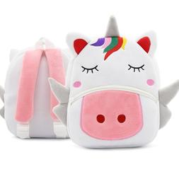 Cartoon Rainbow Unicorn <font><b>Kids</b></font> School Bags