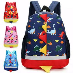 Children Kids Dinosaur Backpack School Book Bag Rucksack Kin