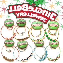 Christmas Party Jewellery Festive Novelty Gifts Choose Kids