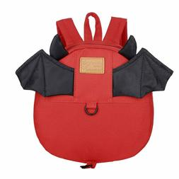 Cinhent Backpacks Child Baby Girls Boys Kids Cartoon Bat But