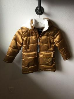nike coats jackets. Youth 5. Color Gold.