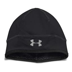 Under Armour Men's ColdGear Infrared Run Beanie, Black /Refl