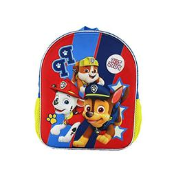 YOURNELO Boys Girls Cute 3D Paw Patrol Waterproof Backpack P