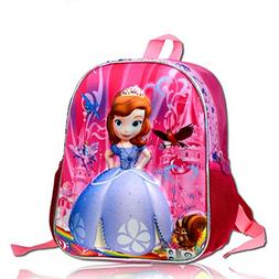 YOURNELO Kid's Cute Cartoon Characters Rucksack School Backp
