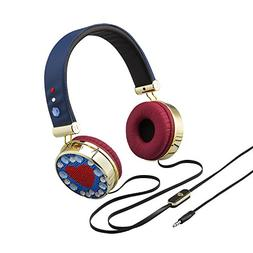 Disney Descendants 2 Headphones Fashionable Rhinestone & Gol