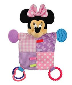 Disney Baby Minnie Mouse Plush Teether Blanket, 12""