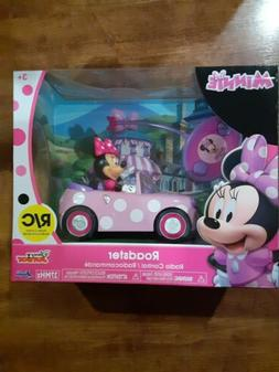 Disney Junior Minnie Mouse Roadster Car Remote Control Toy P