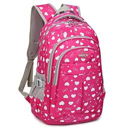 Dog Pawprint Cat Fingerprint Backpack for Elementary or Midd