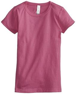 Clementine Little Girls' Everyday T-Shirt, Raspberry, X-Smal