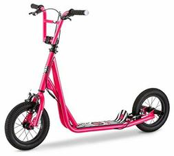 "12"" Mongoose Expo Scooter, Pink"
