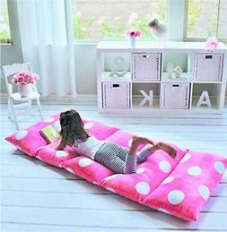 Butterfly Craze Girl's Floor Lounger Seats Cover and Pillow