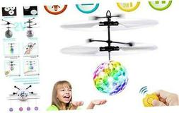 Flying Ball Toys for Kids Boys Girls Gifts, Rechargeable Lig
