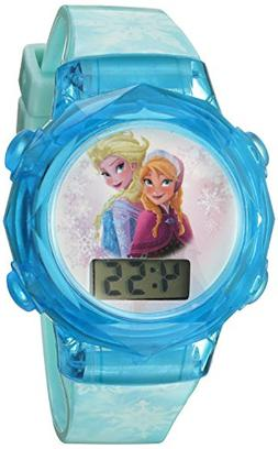Disney Girl's Frozen FNFKD120 Blue Plastic Quartz Watch