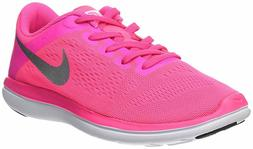 Nike Girl's Flex 2016 RN  Kids Running Shoe 834281 600 Pink