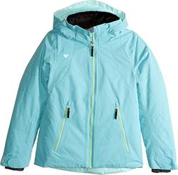 Obermeyer Kids Girl's Haana Jacket  Laguna Cay X-Large